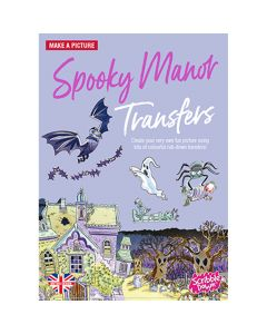 Scribble Down Spooky Manor Transfers