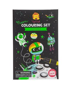 Tiger Tribe Outer Space Colouring Set