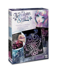 Scratch and Sketch Cards - Nebulous Stars