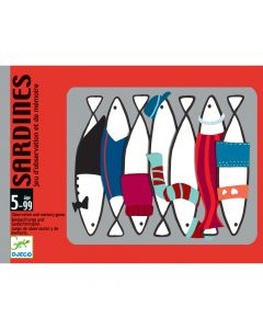 Djeco Card Games - Sardines