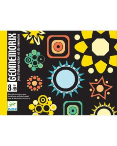 Djeco Card Games - Geomemorix - SAVE 25%