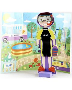 Magnetic Dress Up Doll - Alfie