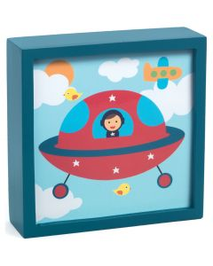 Polo Space Magic Wall Art Night Light - SAVE 25%