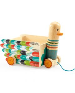 Djeco Pull Along Toy - Leni - SAVE 25%