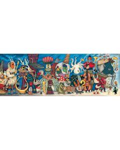 Djeco Gallery Puzzle Fantasy Orchestra