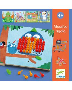 Toddler Animal Pegboard - Mosaico rigolo by Djeco