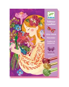 Djeco Glitter Boards The Scent of Flowers