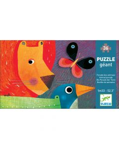 Animal Parade - Djeco Jigsaw Puzzle