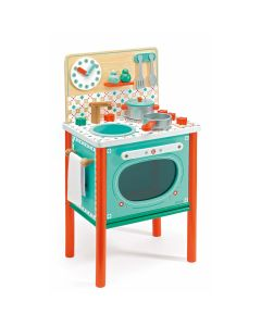 Djeco Toy Kitchen - 25% off as unable to hang utensils up