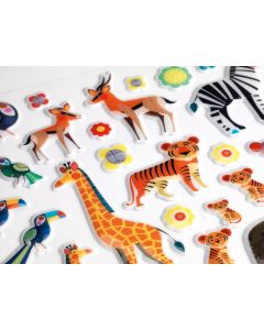 Djeco Puffy Stickers - Mothers and Babies - SAVE 20%