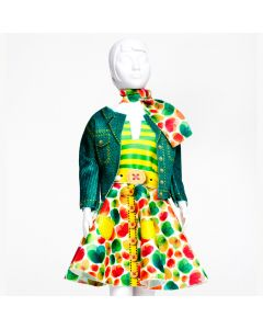 Lucy Green Dress Your Doll