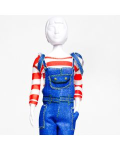 Dress Your Doll Tilly Jeans Outfit