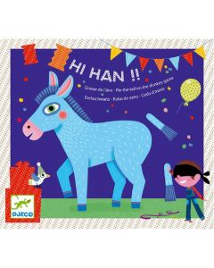 Djeco Party Games - Hi Han!! - Pin the Tail on the Donkey Game