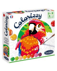 Colorizzy Paint By Numbers Birds