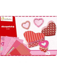 Decopatch Love Hearts