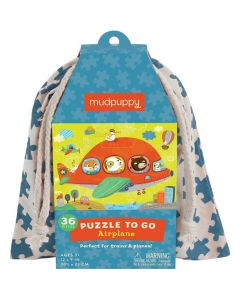 Mudpuppy Puzzles to Go - Airplane