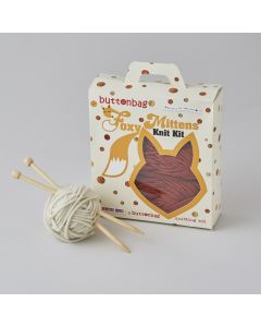 Buttonbag Foxy Scarf Knit Kit