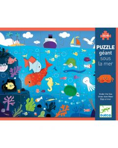 Djeco Giant Puzzles - Under the Sea
