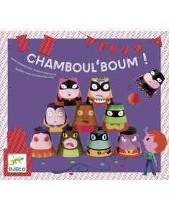 Djeco Party Games - Chamboul'Boum! - Knock em Over