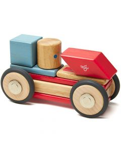 Tegu Magnetic Wooden Blocks Stunt Team Daredevil - save 20%