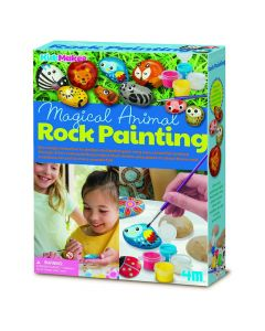 4M Magical Animal Rock Painting