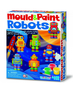 4M Mould and Paint - Robots