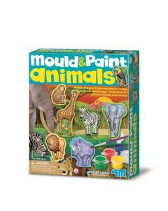 4M Mould and Paint - Wild Animal 00-04775