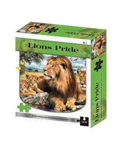 500 piece Puzzle - Lions Pride - save 20%