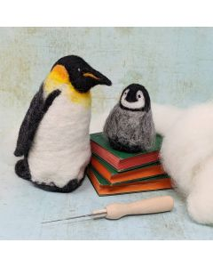 The Crafty Kit Co, Needle Felting Kit - Emperor Penguins