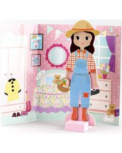 Magnetic Dress Up Doll - Sofia