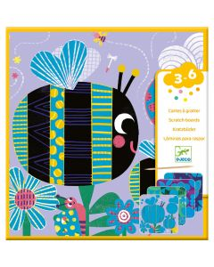 Djeco Scratch Boards - Bugs
