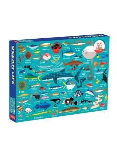 Mudpuppy Ocean Life 1000 Piece Jigsaw Puzzle