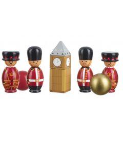 London Wooden Skittles - Orange Tree Toys