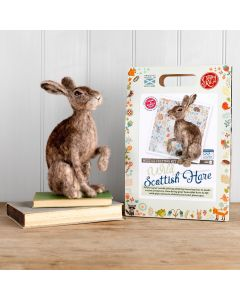 The Crafty Kit Co, Needle Felting Kit - Wild Scottish Hare - save 25%