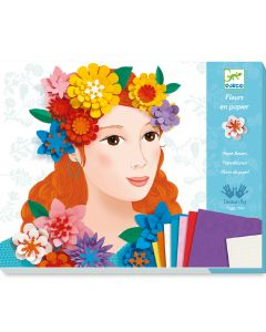 Djeco Paper Flowers - Young Ladies in Flowers