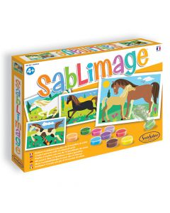 Sablimage Sand Art Horses
