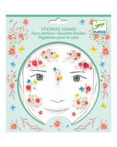 Djeco Face Stickers Kit - Spring Fairy