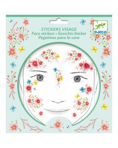 Djeco Face Stickers Kit - Spring Fairy