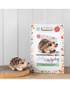 The Crafty Kit Co, Needle Felting Kit - Baby Hedgehog