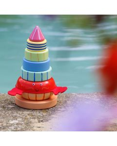 Orange Tree Toys - Hermit Crab Stacking Ring