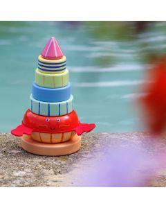 Orange Tree Toys - Hermit Crab Stacking Ring
