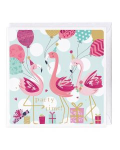 Flamingo Party Time