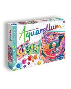 Aquarellum Dolphins