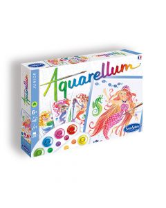 Aquarellum Junior Mermaids Painting Set