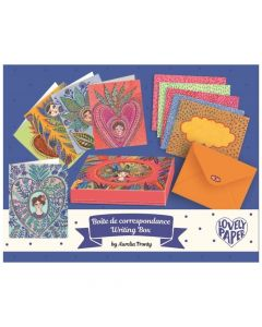 Aurelia Writing Box - Djeco Lovely Paper Stationery