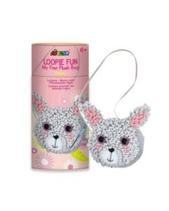 Avenir Loopie Fun Plush Bag - Bunny CH201750