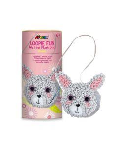 Avenir Loopie Fun Plush Bag - Bunny CH201750
