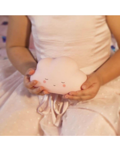 Baby Pink Cloud Little Night Light