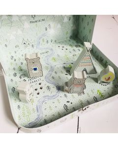 Bear Camp Play Set In A Suitcase