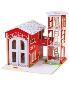 BigJigs Toys City Fire Station - save 25%